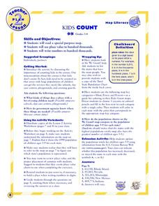Kids Count Lesson Plan