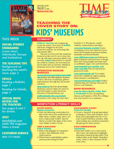 Kids' Museums Lesson Plan