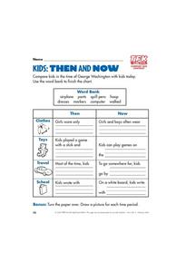 Kids: Then and Now Lesson Plan