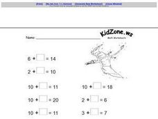 KidZone.ws Math Worksheets Worksheet