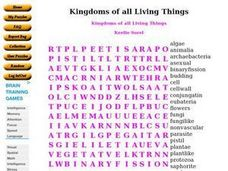 kingdoms of all living things 9th 10th grade worksheet lesson planet. Black Bedroom Furniture Sets. Home Design Ideas