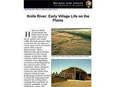 Knife River: Early Village Life on the Plains Lesson Plan