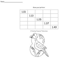Know Your Pattern 5 Worksheet