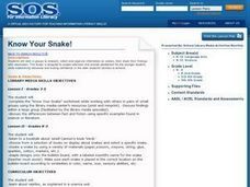 Know Your Snake! Lesson Plan