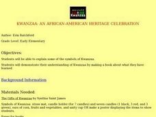 Kwanzaa:  An African-American Heritage Celebration Lesson Plan