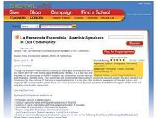 La Presencia Escondida: Spanish Speakers in Our Community Lesson Plan