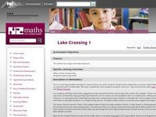 Lake Crossing I Lesson Plan