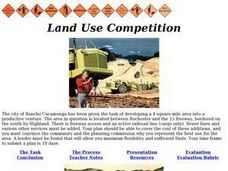 Land Use Competition Lesson Plan