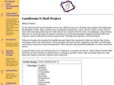 Landforms E-mail Project Lesson Plan