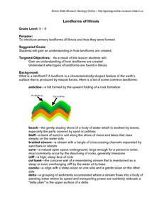 Landforms of Illinois Lesson Plan