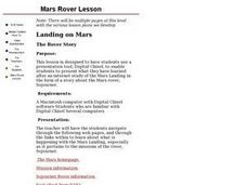Landing On Mars Lesson Plan