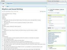 5th grade Creative Writing Lesson Plans