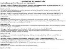 Language Arts: Digital Commercials Lesson Plan