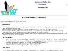 Language Arts: Environmental Awareness Lesson Plan