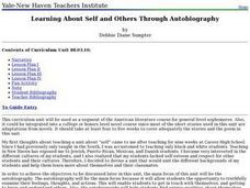 Language Arts: Learning About the Self Lesson Plan