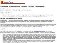 Language, As Experienced Through Pin-Hole Photography Lesson Plan
