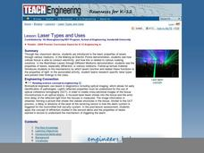 Laser Types and Uses Lesson Plan