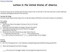 Latinos in the United States of America Lesson Plan