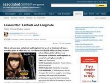Latitude and Longitude Lesson Plan