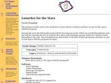 Launches for the Stars Lesson Plan