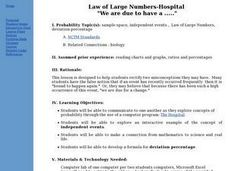 Law of Large Numbers - Hospital Lesson Plan