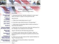 Leadership In War Lesson Plan