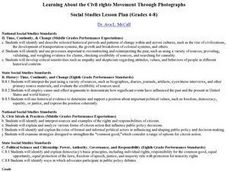Learning About the Civil Rights Movement Through Photographs Lesson Plan