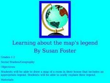 Learning About the Map's Legend Lesson Plan