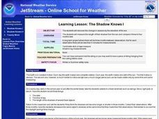 Learning Lesson: The Shadow Knows I Lesson Plan