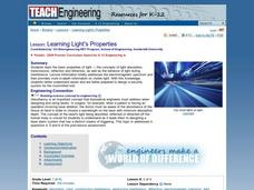 Learning Light's Properties Lesson Plan