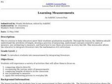 Learning Measurements Lesson Plan
