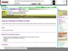Lesson 1 Activity 2: A Place in Time Lesson Plan