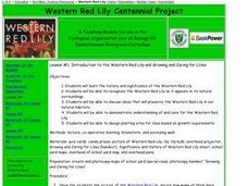 Lesson #1: Introduction to the Western Red Lily and Growing and Caring for Lilies Lesson Plan