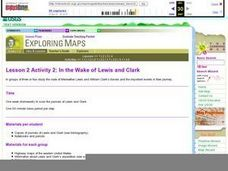 Lesson 2 Activity 2: In the Wake of Lewis and Clark Lesson Plan