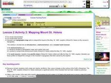 Lesson 2 Activity 2: Mapping Mount St. Helens Lesson Plan