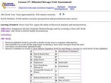 Lesson 27: Illinois/Chicago Unit Assessment Lesson Plan
