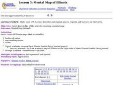 Lesson 5: Mental Map of Illinois Lesson Plan