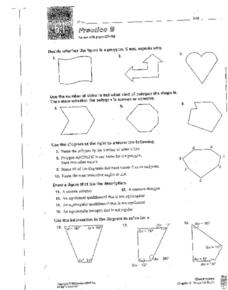Lesson 6.1 Practice B: Polygons Worksheet