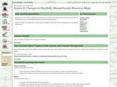 Lesson 8: Changes in Deerfield, Massachusetts Shown in Maps Lesson Plan