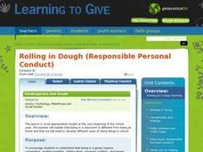 LESSON 8:  Rolling in Dough (Responsible Personal Conduct) Lesson Plan