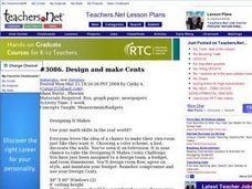 Lesson Exchange: Design and make Cents (Elementary, Mathematics) Lesson Plan