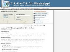Lesson of Self-Discovery and Peer Introduction Lesson Plan