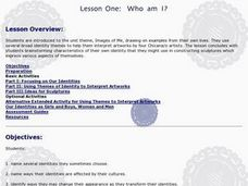 Lesson One: Who Am I? Lesson Plan
