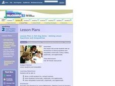 Lesson Plan 2: Hot Dog Sales - Solving Linear Equations and Inequalities Lesson Plan