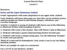 Lesson Plan for Puns Lesson Plan