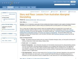 Lessons from Australian Storytelling Lesson Plan