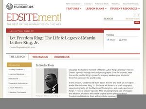 Let Freedom Ring: The Life & Legacy of Martin Luther King, Jr. Lesson Plan