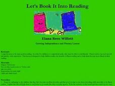 Let's Book Into Reading Lesson Plan