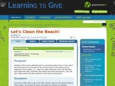 Let's Clean the Beach! Lesson Plan