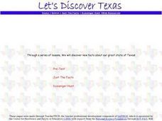 Let's Discover Texas! Lesson Plan
